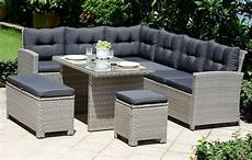 lounge rattan set with cushions garden furniture out