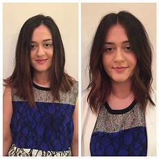 lob haircut before and after before and after haircut bob lob long bob razor bob texture lived in hair bumble and