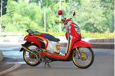 Scoopy Modifikasi Standar by Finna Rz Modifikasi Honda Scoopy Racing Look Style