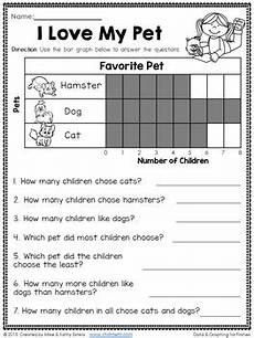 data and graphing for first grade by chilimath tpt