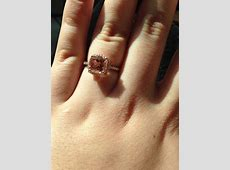 My journey with a Morganite Engagement Ring (Advice about