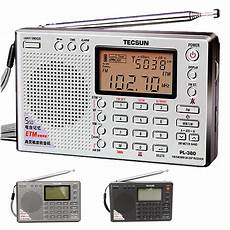 digital radio receiver test tecsun pl 380 dsp pll fm mw sw lw digital stereo radio