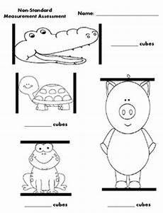 measurement worksheets grade 1 non standard 1453 non standard measurement assessment freebie by klever kiddos tpt