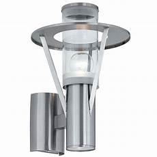eglo belfast 2 light stainless steel outdoor wall light