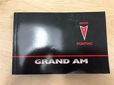motor auto repair manual 2002 pontiac grand am electronic valve timing 2002 pontiac grand am owners manual ebay