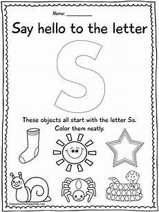 letter s worksheets for preschoolers 23304 letter s preschool letter s