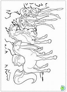 horseland coloring page dinokids org coloring pages