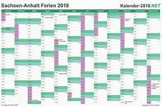 Ferien Sachsen Anhalt 2018 Ferienkalender 220 Bersicht