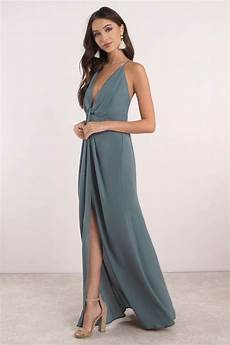 About You Kleider - blue maxi dress wedding guest dress blue bridesmaid