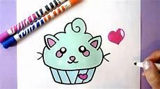 Leichte Bilder Zum Abmalen - kawaii cupcake zeichnen diy wie zeichnet einen