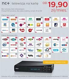 Nc Telewizja Na Kartę Nowa Oferta