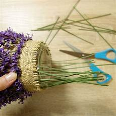 Diy Lavendel Windlicht Basteln Einweckglas Upcyclen Und