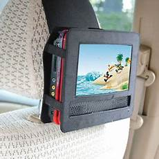 portabler dvd player auto tfy 7 inch portable dvd player car headrest mount with