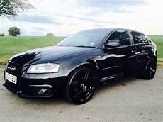 Modified Black Audi A3 S Line Edt Image Illinois Liver