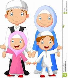 Animasi Keluarga Muslim Bahagia Terbaru Galeri Kartun
