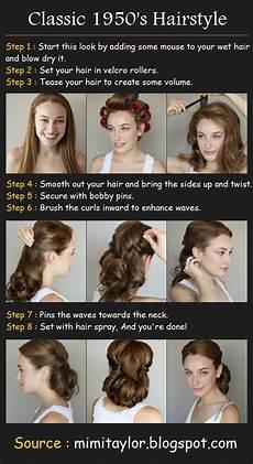 50s Hairstyles Hair Tutorial