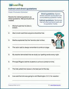 punctuation worksheets skillsworkshop 20892 grade 4 punctuation worksheets k5 learning