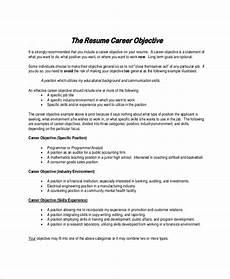 sle resume objective statement 8 exles in pdf