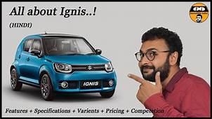 Maruti Suzuki Ignis  Product Explanation Video