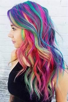 bright hair colors on pinterest bright hair rainbow hair and 33 rainbow hair styles to look like a unicorn cool hair color rainbow hair cool hairstyles