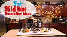 Fall Decorating Ideas For Kitchen by 2017 Fall Kitchen Decorating Ideas