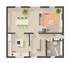 modernes einfamilienhaus grundriss erdgeschoss neubau ohne