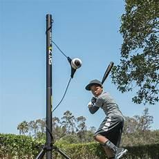 baseball swing trainer sklz hit a way portable baseball