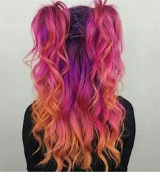bright hair colors on pinterest bright hair rainbow hair and rainbow bright hair colour pink orange purple dyed hairstyles inspiration inspo ideas with