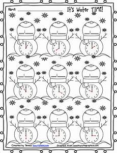 winter worksheet for 5th grade 20179 free winter printables for telling time firstgradefaculty winter math and free