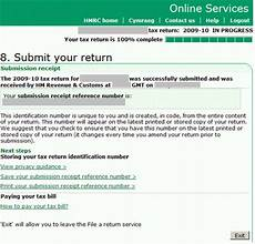 online tax refund form filling in the inland revenue self assessment online tax form part 3