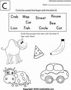 letter b and c worksheets 23965 circle the word that begin with the letter c