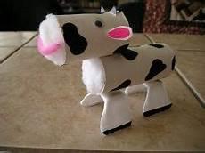 vaca rollos diy rollos de papel higi 233 nico artesan 237 as con papel higi 233 nico y manualidades