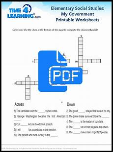 free printable elementary social studies worksheet