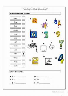 vocabulary matching worksheet elementary 1 1 worksheet free esl printable worksheets made by