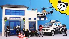 Playmobil Malvorlagen Polizei Playmobil Polizei Die Neue Polizeistation Spielzeug