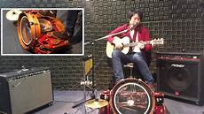 the one man george yui one band foot drum 油井ジョージ ワンマンバンド