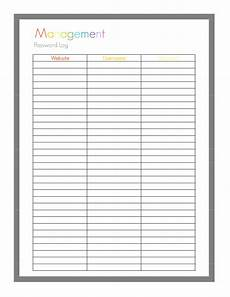 password log printable sheet1 pdf family planner printables printable password log