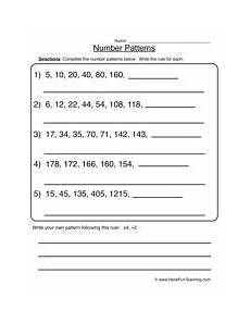 patterns in numbers worksheets for 2nd grade 183 number patterns worksheet 1 math worksheets number patterns worksheets worksheets