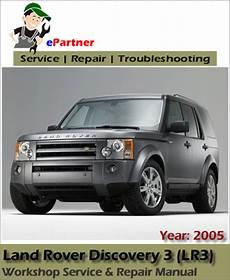 motor repair manual 2005 land rover discovery parking system land rover discovery 3 lr3 service repair manual 2005 automotive service repair manual