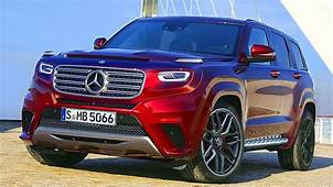 Mercedes GLG To Be Launched In 2020  Range Rover Sport