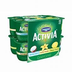 yaourt au bifidus vente activia panach 233 de yaourts au bifidus 12 x 125 g en