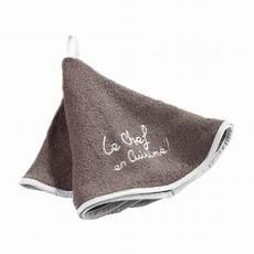 frottee handtuch frottee handtuch bestickt chefkoch taupe tischdecken