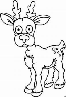 Ausmalbilder Weihnachten Reh Suesses Reh Ausmalbild Malvorlage Comics
