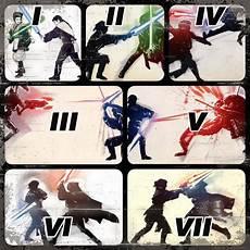 seven forms of lightsaber combat 2 kung fu tea
