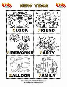 new years activities games and worksheets for kids