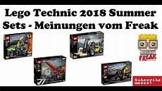 Lego Technic 2018 Sommer Sets Aargghh Meinungen Vom