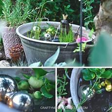 Romantischer Mini Teich Unser Garten Diy Gaard