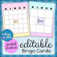 riggs handwriting worksheets 21556 editable bingo cards pastel gradient bingo cards pastel gradient bingo