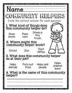 community helpers writing worksheets community helpers unit for preschool and kindergarten the super teacher