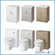 Traditional Back To Wall Btw Wc Pan Toilet Cabinet Basin